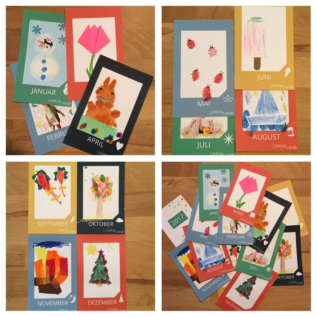 ikea kalender selber basteln weihnachtsgeschenk f r gro eltern ikea hack kinder. Black Bedroom Furniture Sets. Home Design Ideas