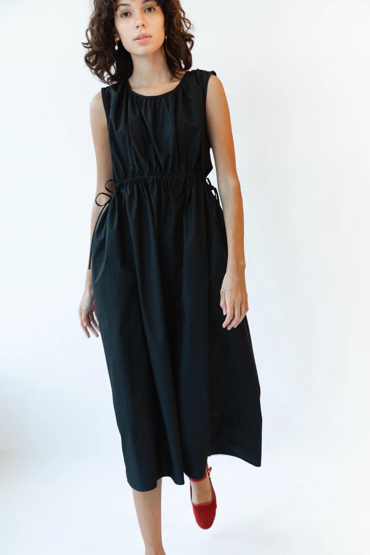 Goa Dress Black Poplin Caron Callahan Dresses Goa Dress Black Dress [ 1500 x 1000 Pixel ]