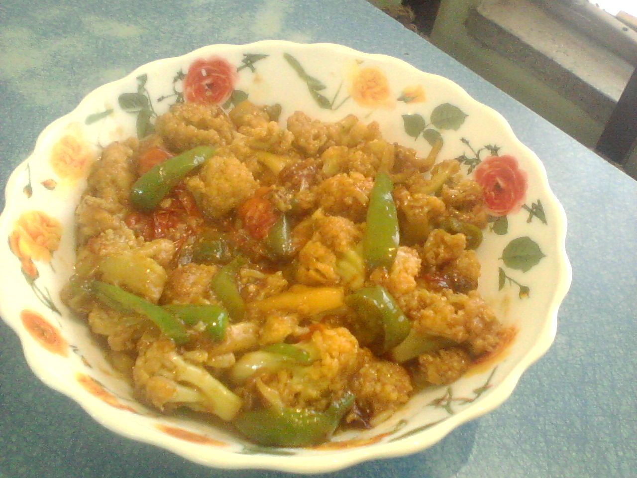 Masalla Gobi( Spicy Cauliflower) : http://secretindianrecipe.com/recipe/masalla-gobi-spicy-cauliflower