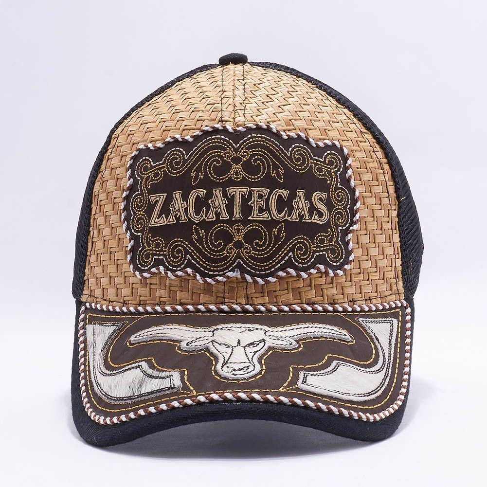 Gorra Charra Zacatecas Western Cowboy Snapback Mesh Hat Cap Mayoreo   MXZA-010  28688805e126