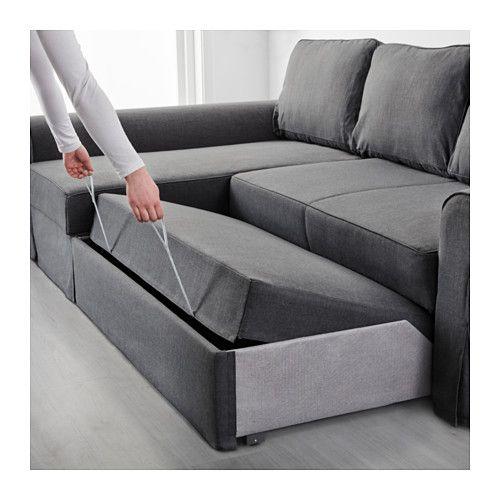 Fine Backabro Slaapbank Met Chaise Longue Nordvalla Donkergrijs Uwap Interior Chair Design Uwaporg