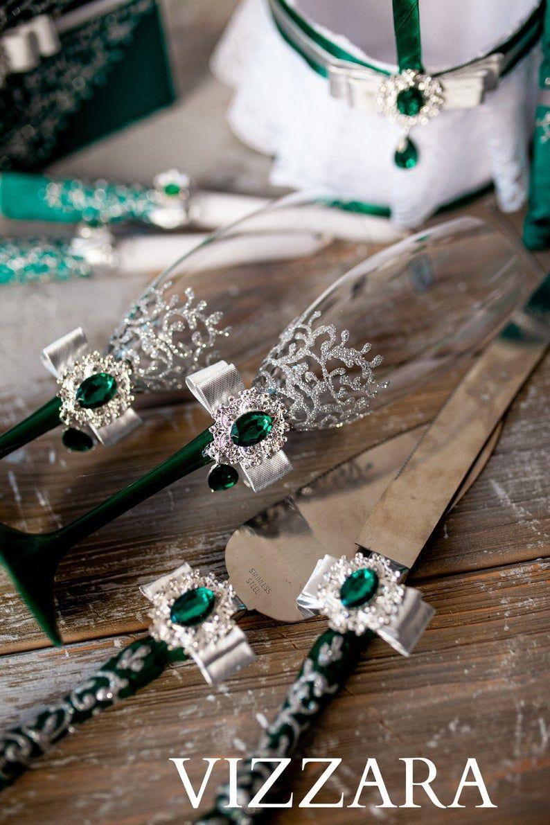 26+ Wedding toasting flutes and serving sets information