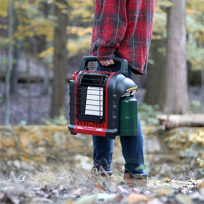 Can i use a propane heater in a garage propane heater