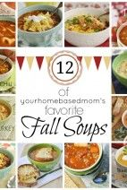 12 Favorite Fall Soup Recipes