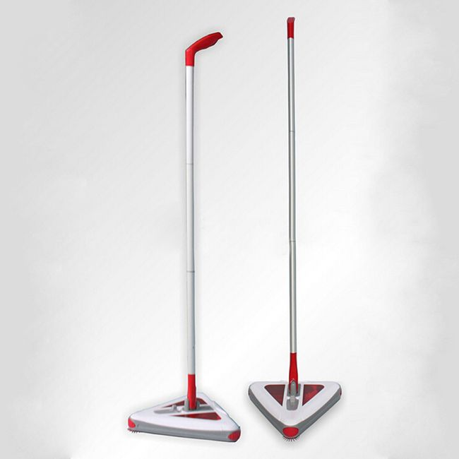 Portable Sweeper 360 Degree Cordless Swival Rechargeable Electric Mop Rod  For Floor Vacuum Cleaner Household Broom