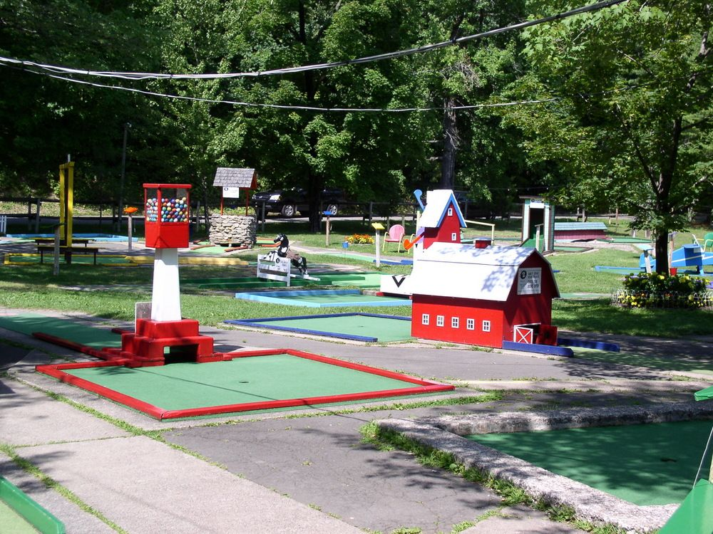 Why Do Some Golf Courses Have Windmills? Miniature golf