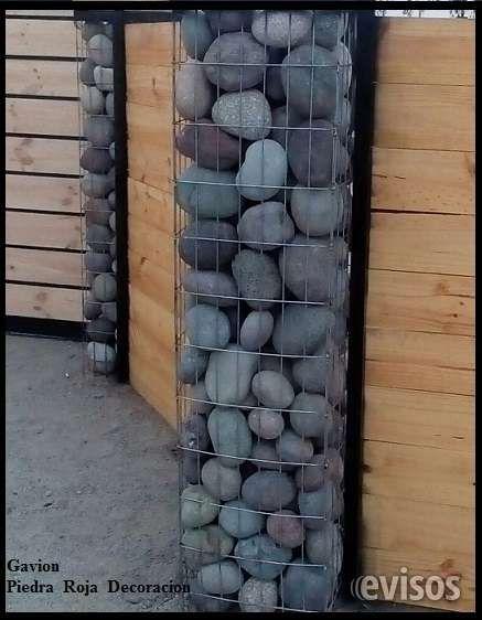 Bolon para gavionesgavionescierres perimetrales,piedra plana