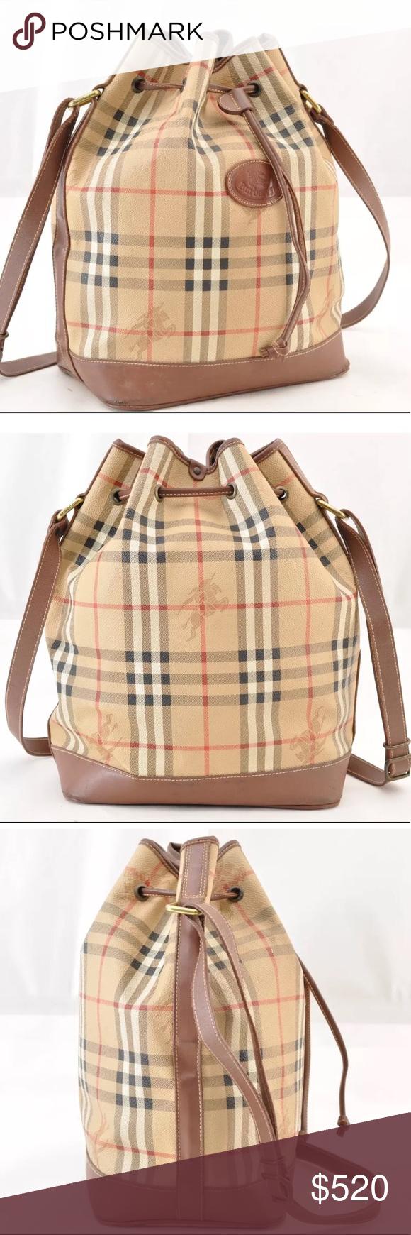 b7558c52e Authentic Burberry shoulder bag