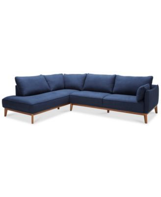 Jollene 113 2-Pc. Sectional, Created for Macy\'s in 2019 | couch ...