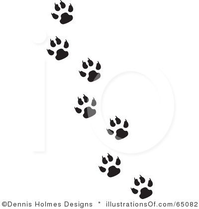 paw print | Fisher Cat Paw Prints Badger | Tattoos | Pinterest ...