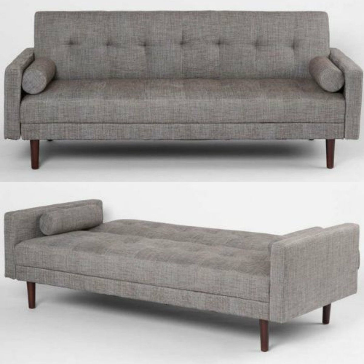 With This Mid Century Modern Convertible Sofa Bed You Ll Enjoy
