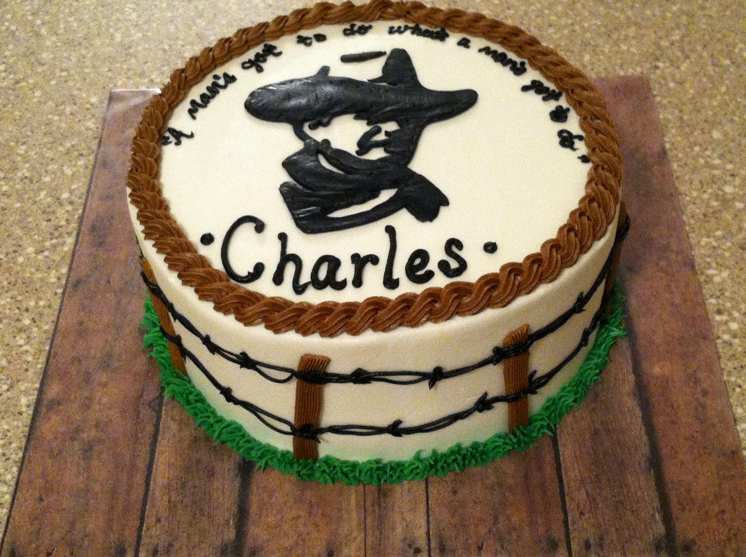 John Wayne Cake Cakes Ive Done Pinterest John Wayne Cake