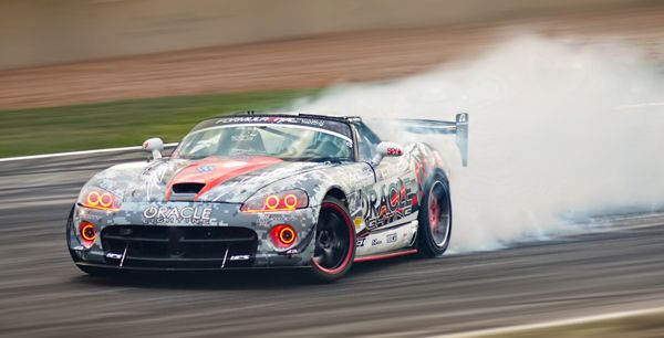 Oracle Lighting Dodge Vider Doing What It Does Best Drifting Dodge Viper Custom Headlights Car