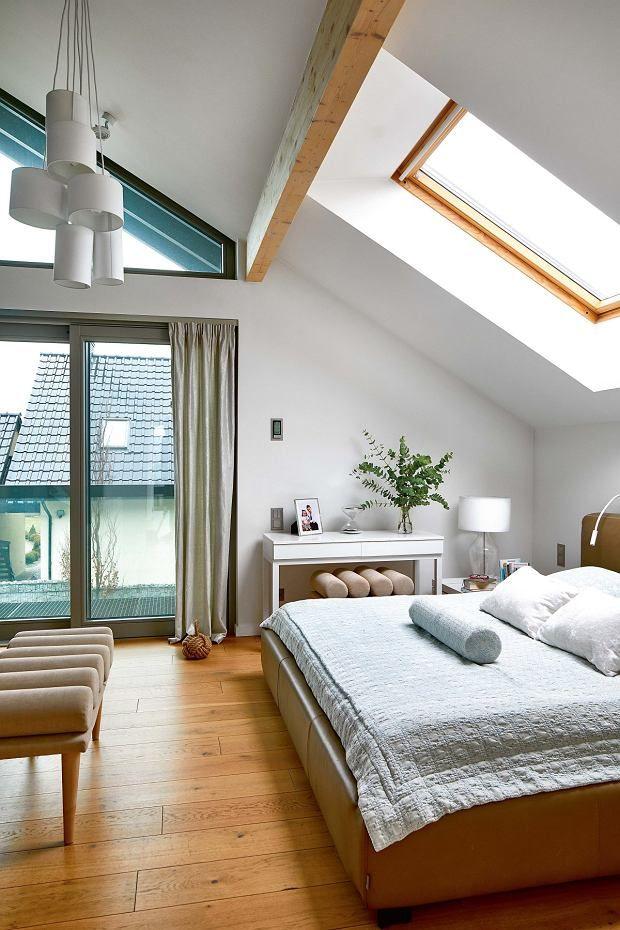 Sypialnia Na Poddaszu Sypialnia In 2019 Bedroom Loft