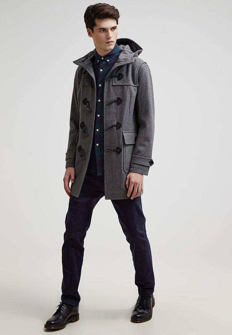 e9a0b6c9d Abrigo corto - medium grey @ Zalando.es 🛒 | abrigo de hombre ...