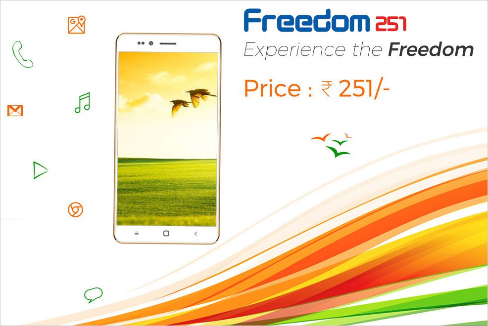 World S Cheapest Smartphone Freedom 251 At Rs 251 Only Versus By Compareraja Cheap Smartphones Freedom Smartphone