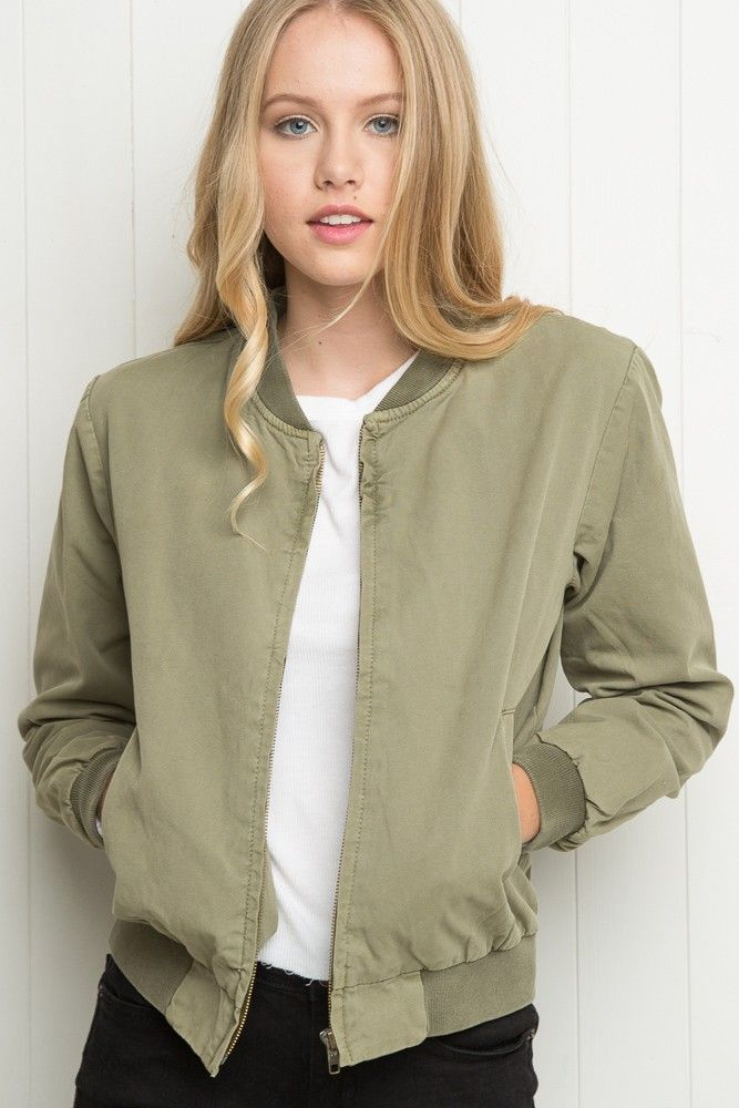b23a54a64 Brandy ♥ Melville | Kasey Bomber Jacket - Just In | Staples in 2019 ...
