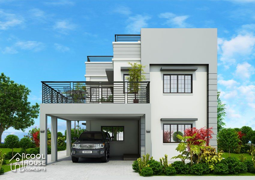 Home Design Plan 13x18m With 5 Bedrooms Home Ideas Modern House Plans Home Design Plan Modern House Floor Plans