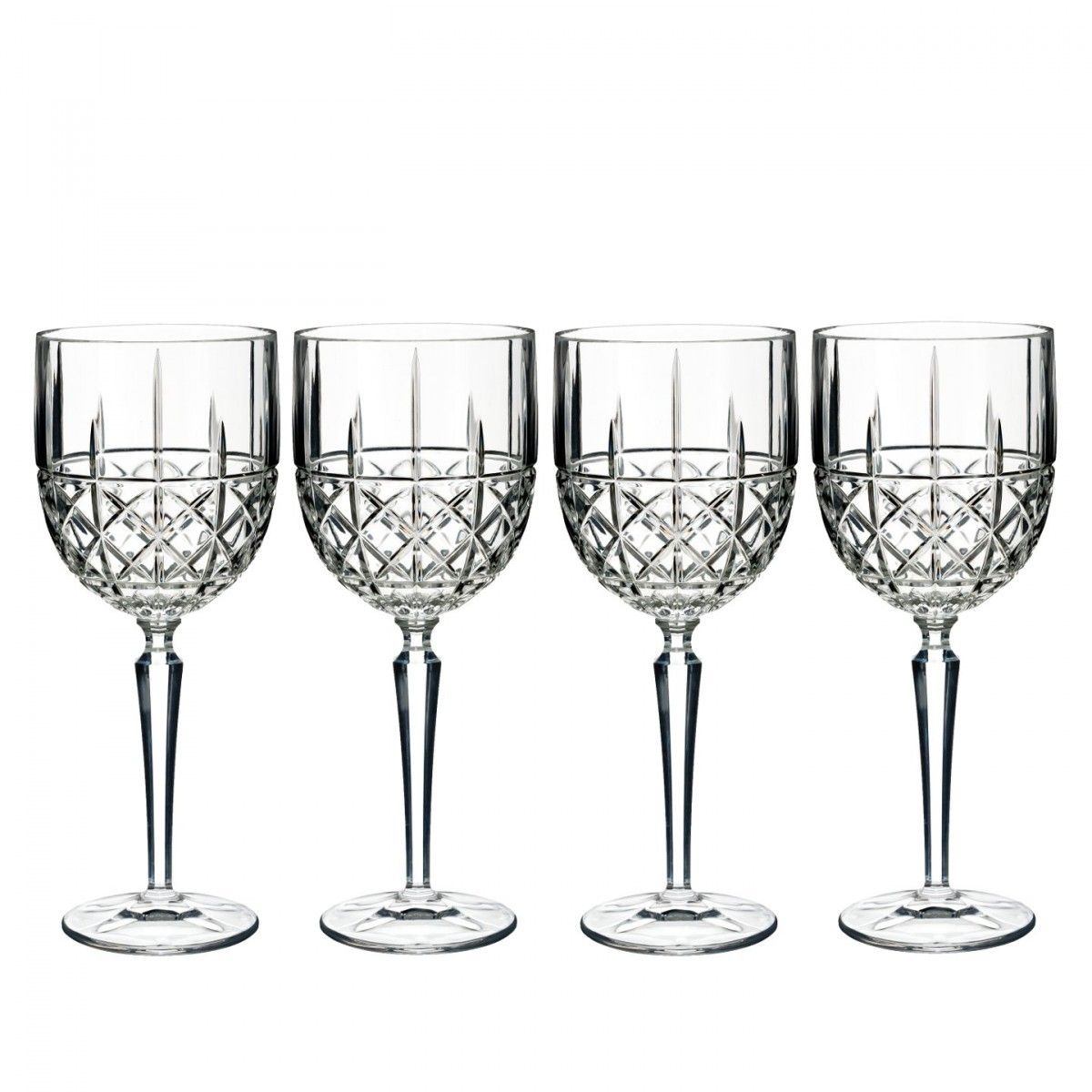 Beautiful Marquis by Waterford Brookside Crystal Bar Set