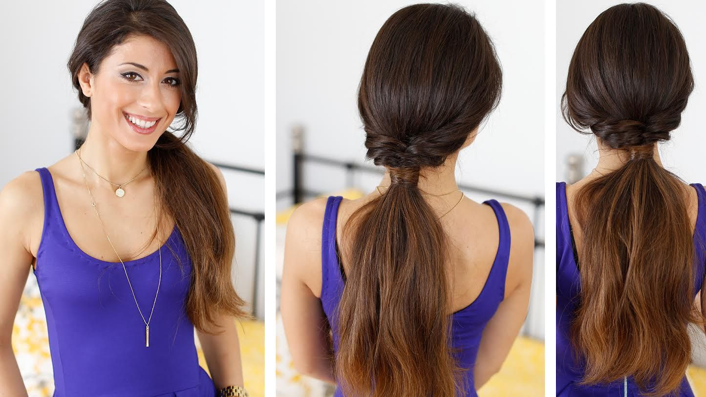 Quick and effortless ponytail hairstyle with luxy hair extensions quick and effortless ponytail hairstyle with luxy hair extensions click to learn how to achieve pmusecretfo Images
