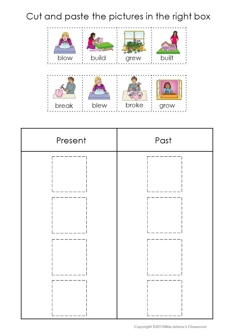 Irregular Verbs Sorting Irregular Verbs Verb Sort Teaching Third Grade [ 1090 x 761 Pixel ]