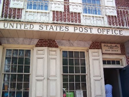 First Post Office In The USA: Benjamín Franklin Station, Philadelphia! PA.  | POSTAL STUFF | Pinterest