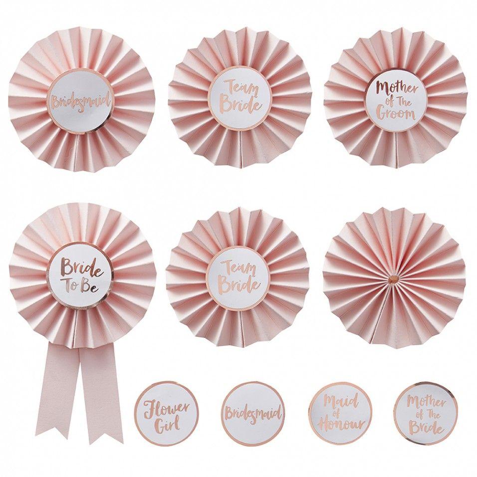 Team bride badge kit | W E D D I N G. I N S P I R A T I O N ...