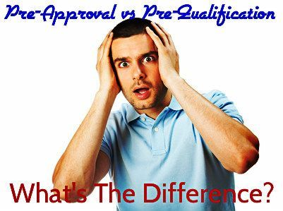 Mortgage PreApproval Vs PreQualification Letter  For St Time