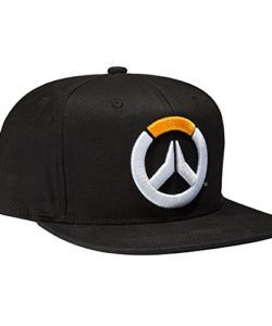 Overwatch Frenetic Snapback Baseball Hat Officially licensed by Overwatch   designed and created by JINX Black cap with matching brim from Overwatch  video ... d8732516d905