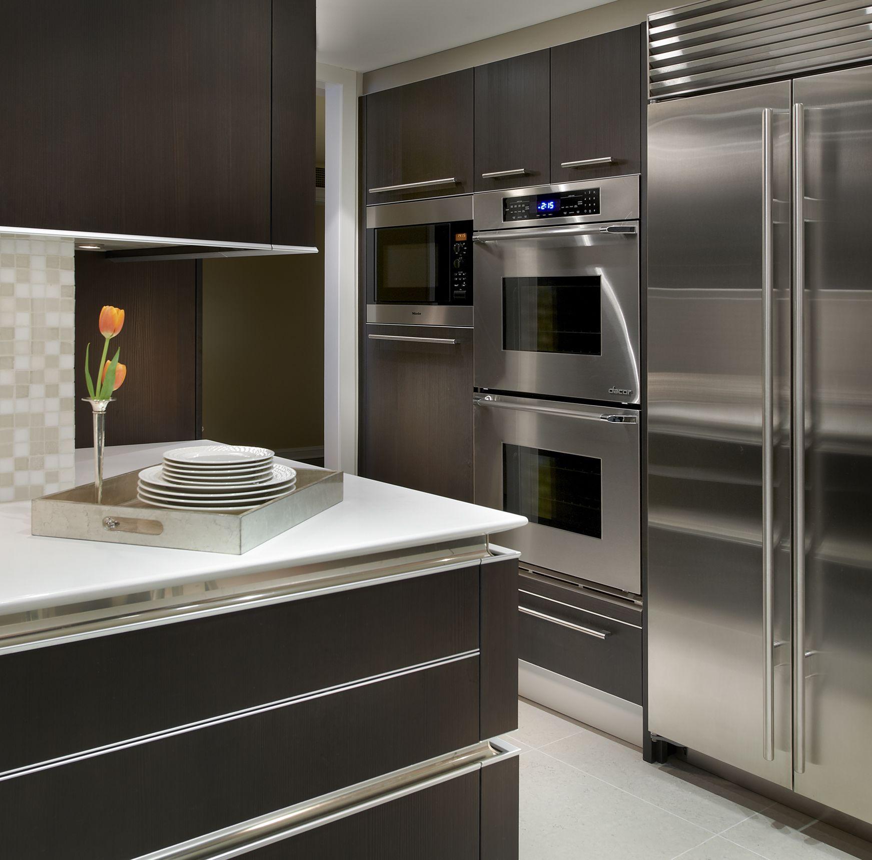 Downtown Chicago Modern Kitchen Design Modern Kitchen Kitchen Design