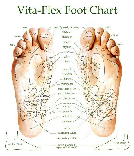 Vita flex foot chart young living also essential oils pinterest rh