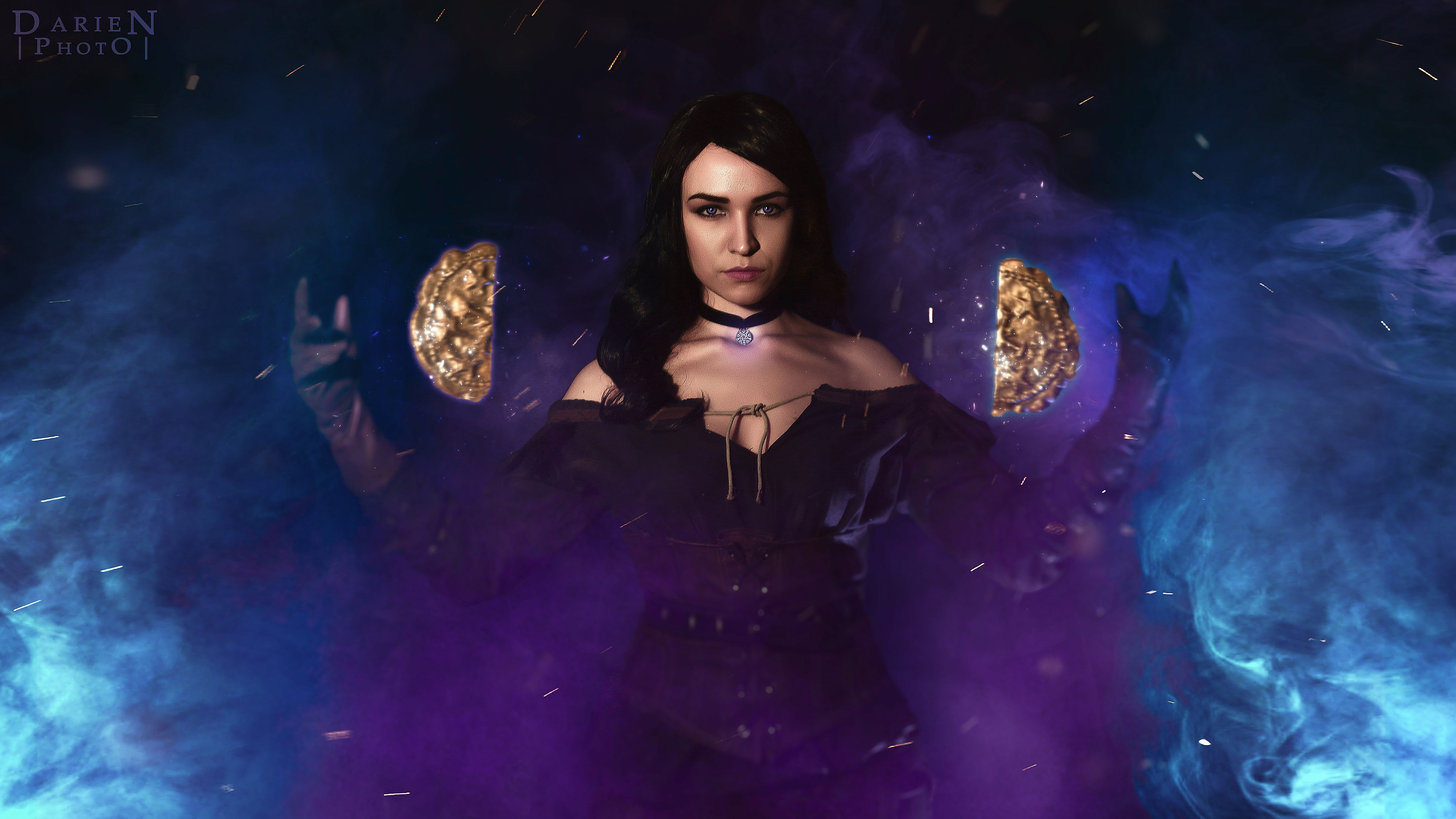 Witcher 3 Wild Hunt Yennefer Vengerberg Cosplay Gaming Desktop Hd Wallpaper The Witcher Witcher 3 Wild Hunt The Witcher 3