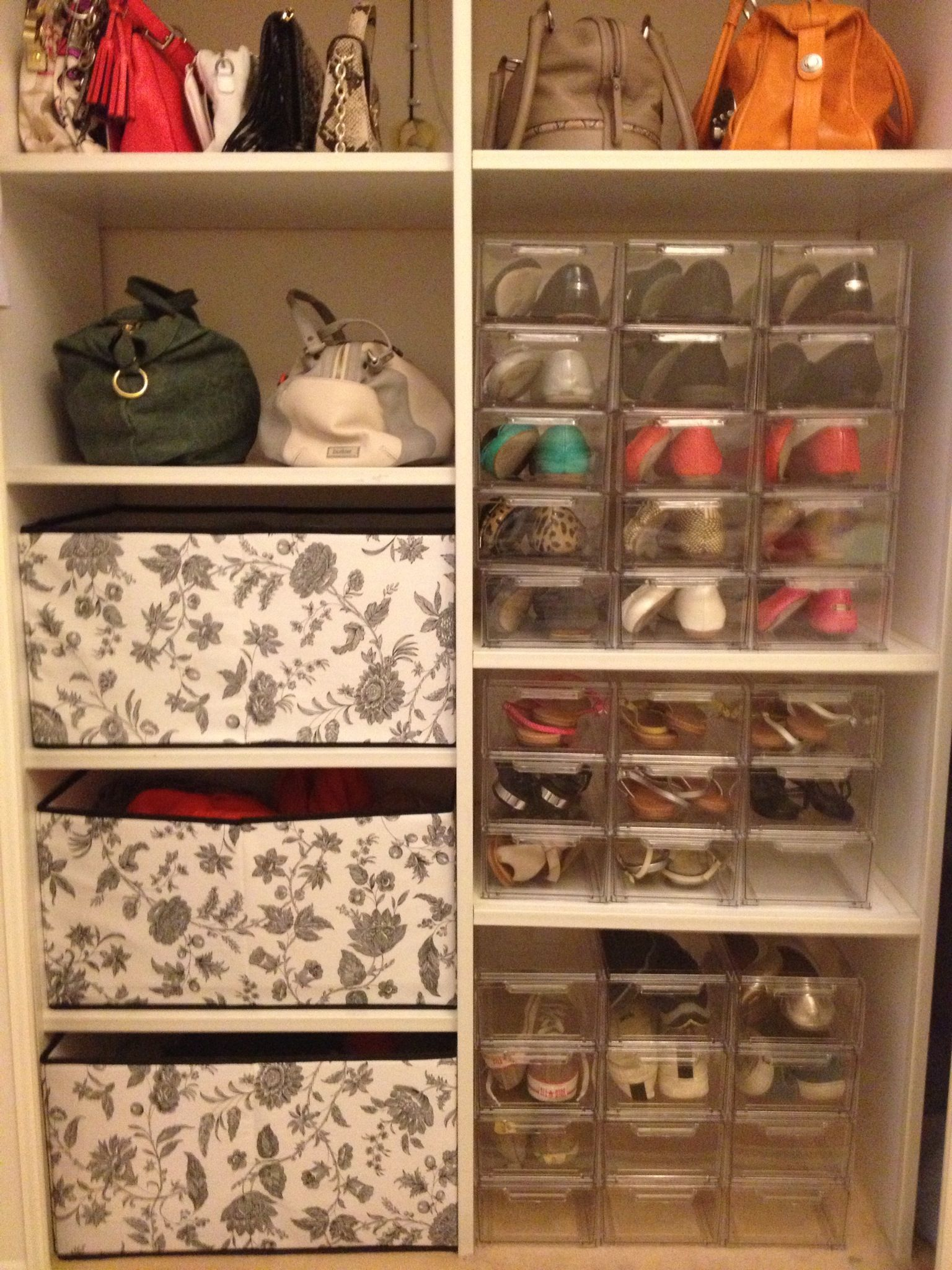 Ballet Flat Storage Closet Shoestorage