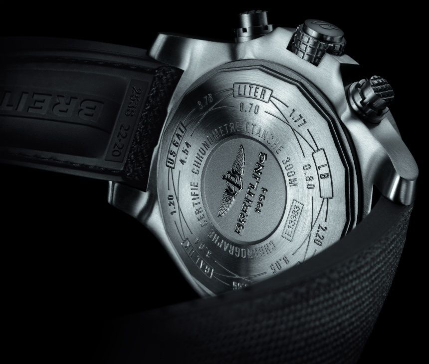 2a617429c7f Breitling Avenger Bandit is a Titanium Treat