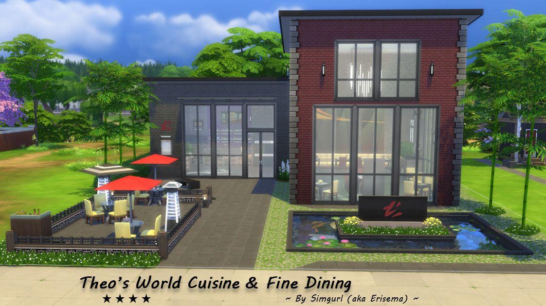 Theo S World Cuisine Fine Dining Restaurant Rated 4 Stars By Sims Times Theo S World Cuisine Fine World Cuisine Fine Dining Restaurant Restaurant Rating