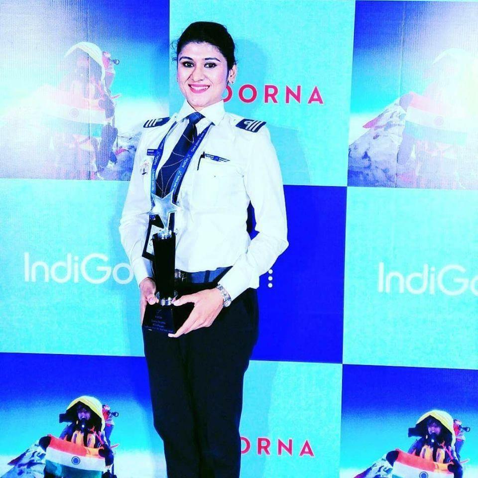 Guest Bloggers Indigo airlines, Female pilot, Pilot