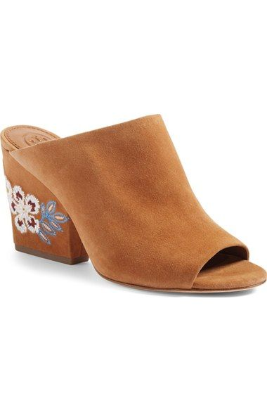 1b7460c22959a2 TORY BURCH Embroidered Floral Mule (Women).  toryburch  shoes  sandals
