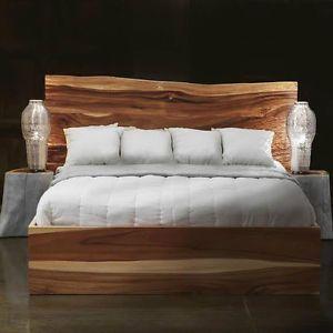 Live Edge King Bed Queen Bed Wood Bedroom Set Reclaimed Wood City