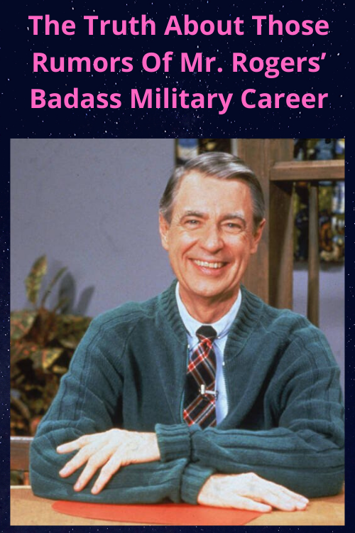 Records Show That Mr Rogers Registered For The Draft In 1948 But Was He Ever A Navy Seal Or A Military In 2020 Mr Rogers Military Careers Mister Rogers Neighborhood