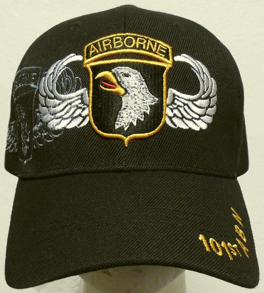 NEW U.S. ARMY SCREAMING EAGLE 101ST AIRBORNE ABN DIVISION DIV JUMP WINGS CAP  HAT  HIGHPREMIUMHATS  BaseballCap 328e6b149a26