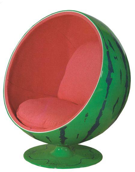 ball chairs wheelchair folding watermelon chair wacky