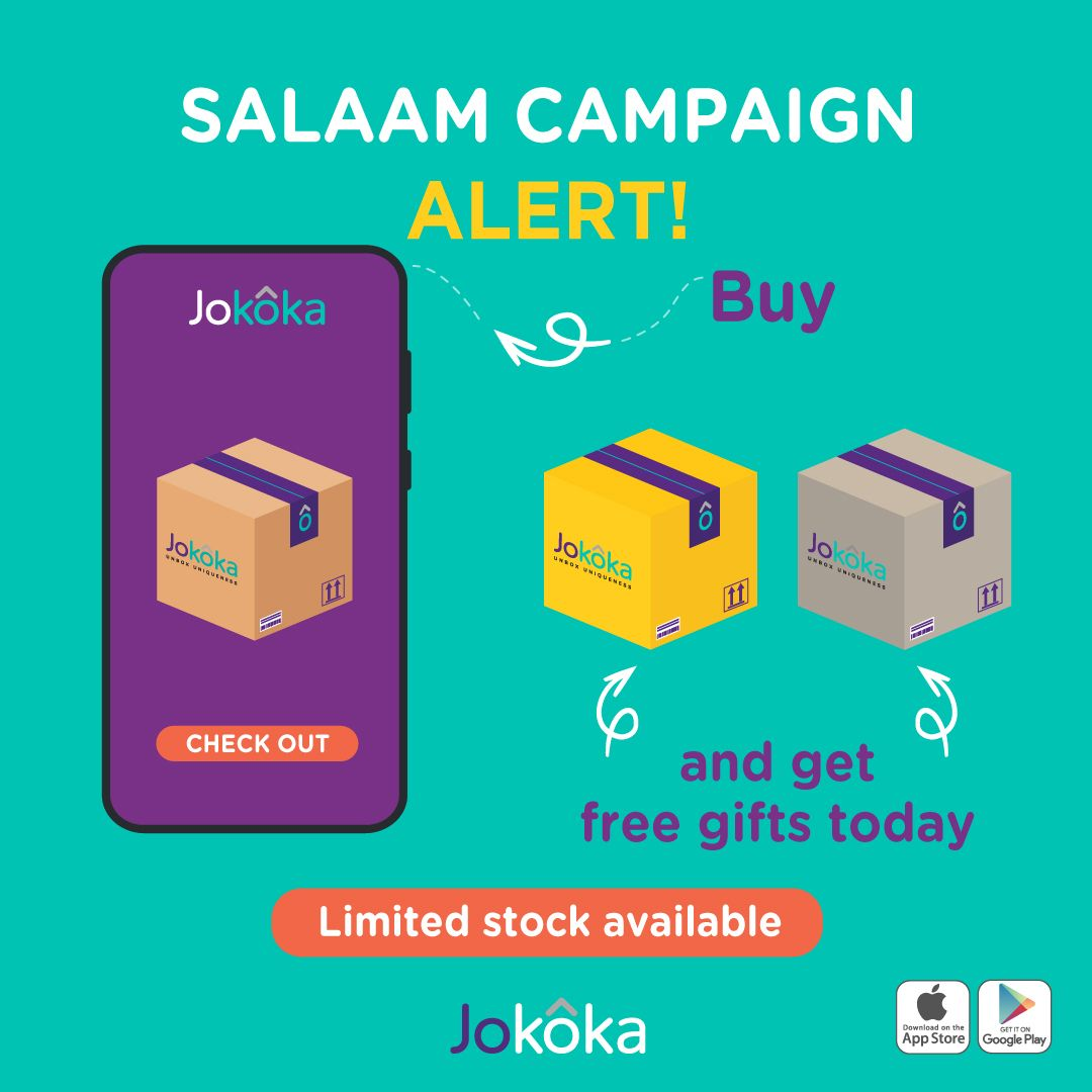 Salaam Campaign Alert Golden Boxes Are Running Low Get Yours Before The Stock Finishes Make Your First Order And You W How To Plan Echo Dot Smart Assistant