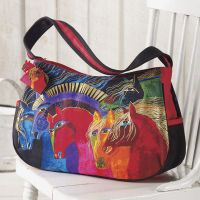 I love this Laurel Burch® Six Horses Bag http://www.backinthesaddle.com/itemdy00.aspx?ID=7,395&T1=B71097