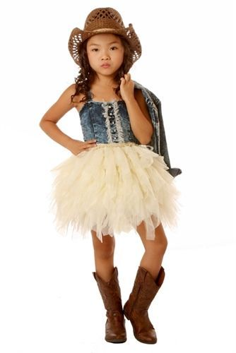 Cowgirl Party Dress Great For Birthday Outfit My Little