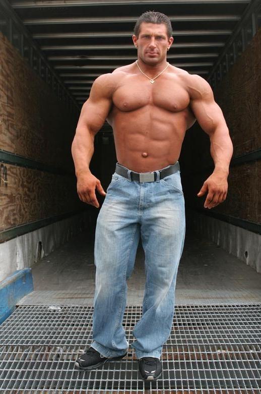 bodybuilder Jim + + gay walker