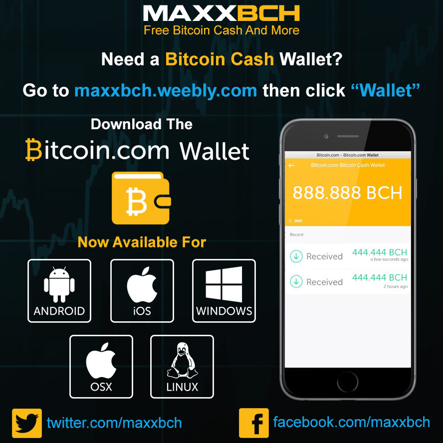 Pin By Maxx Bch On Cryptocurrency Pictures Free Bitcoin Cash And -