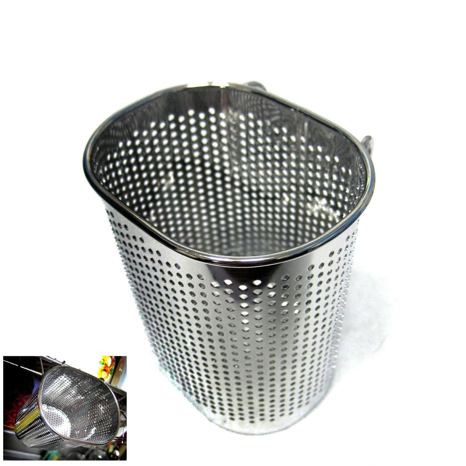 New Stainless Steel Perforated Cutlery Storage Hook