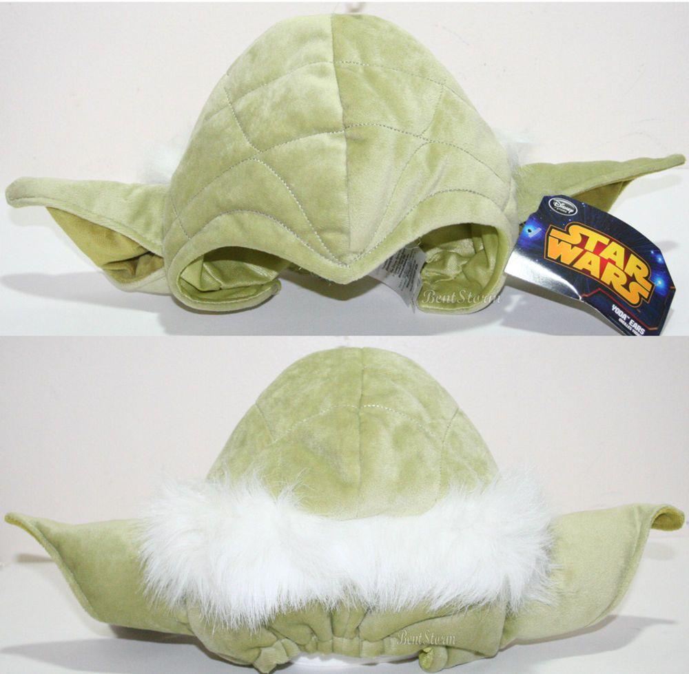 NEW Disney Store Star Wars KIDS YODA Jedi Master Costume Cosplay Green Hat  Cap DisneyStore
