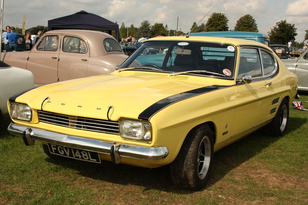 The Ford South African Connection Retro Rides Old School Cars Ford Capri Ford