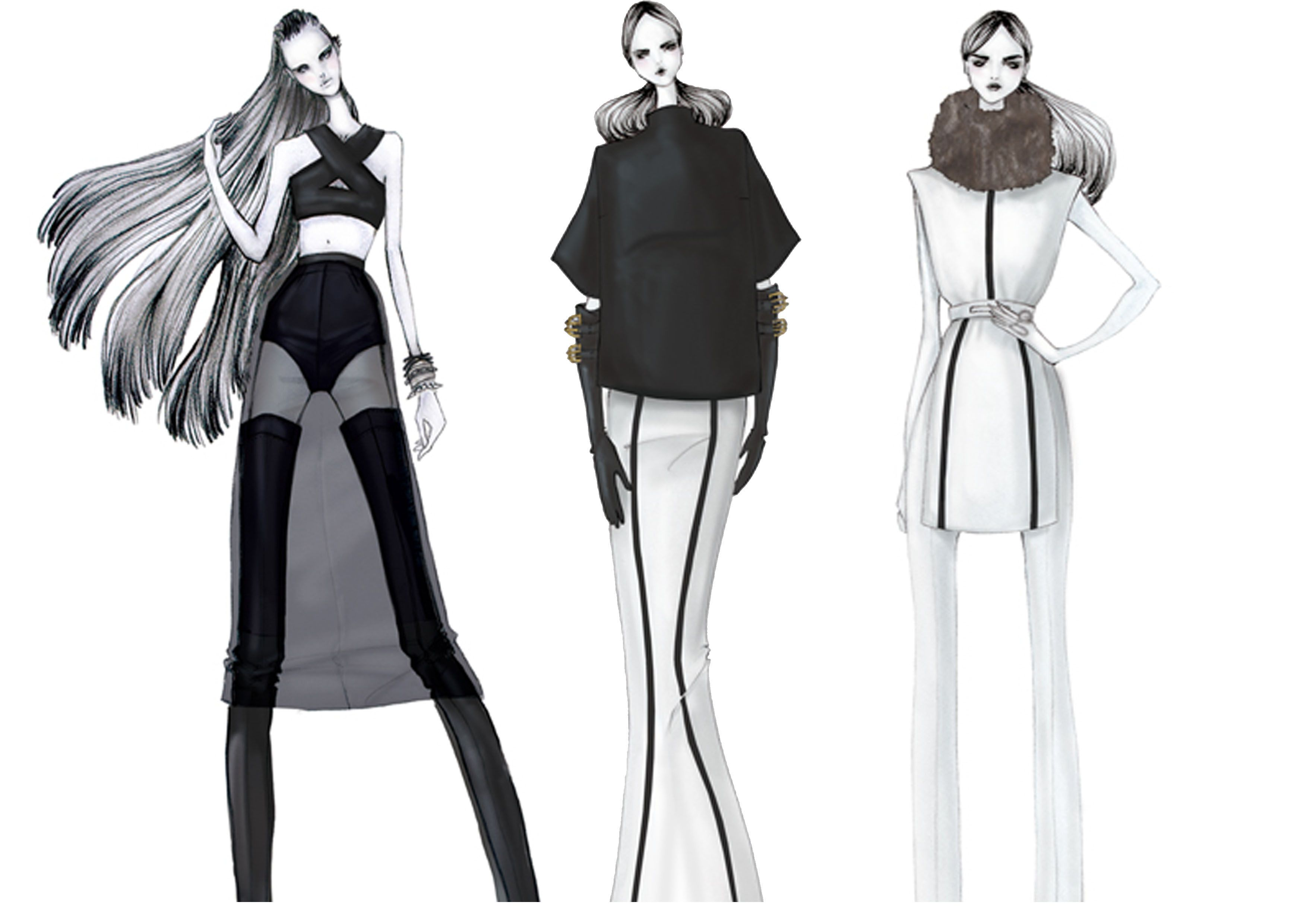 fashion illustration   C    utare Google   Fashion Ilustration     fashion illustration   C    utare Google